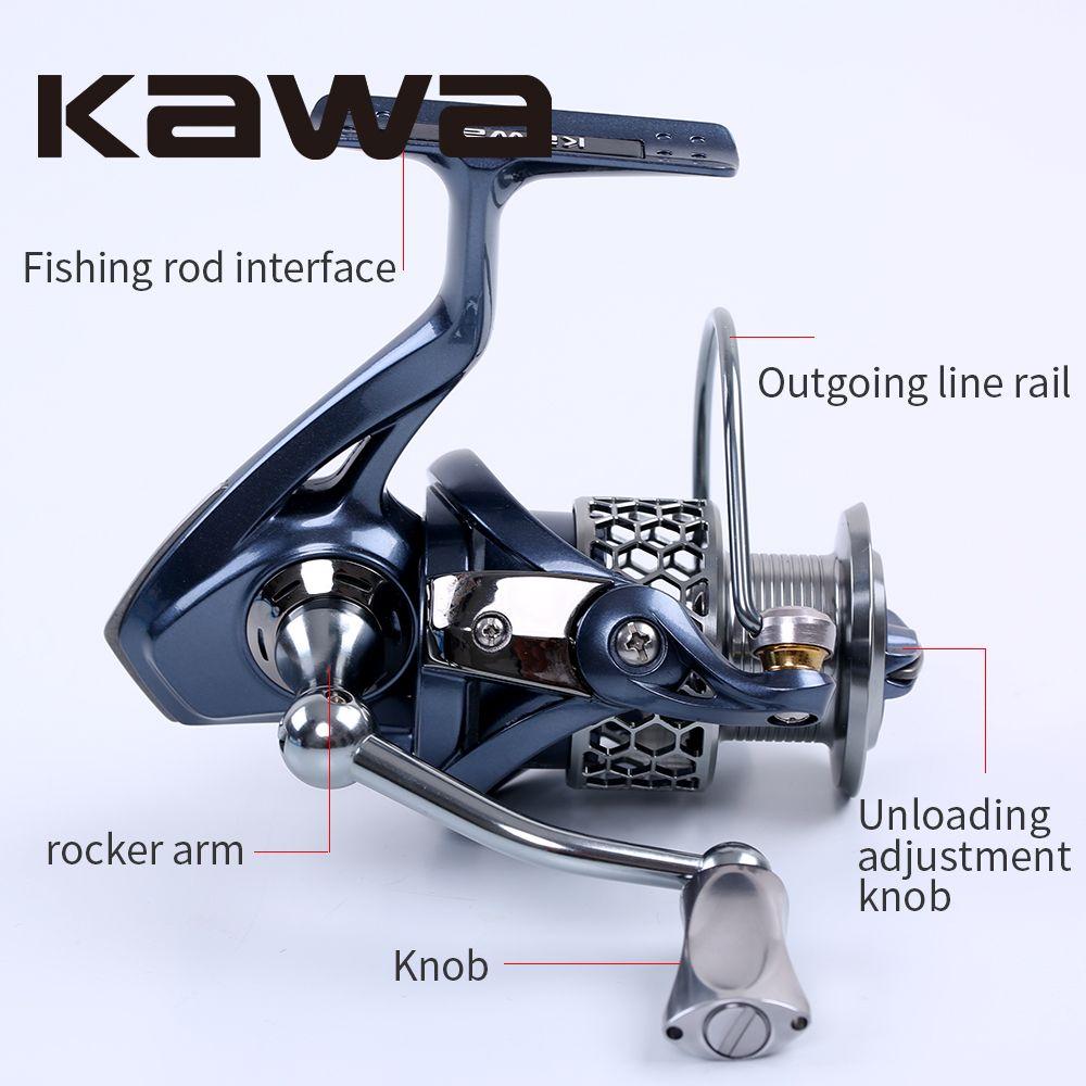 2016 Kawa New Spinning Fishing Reel Light-2000 3000 4000