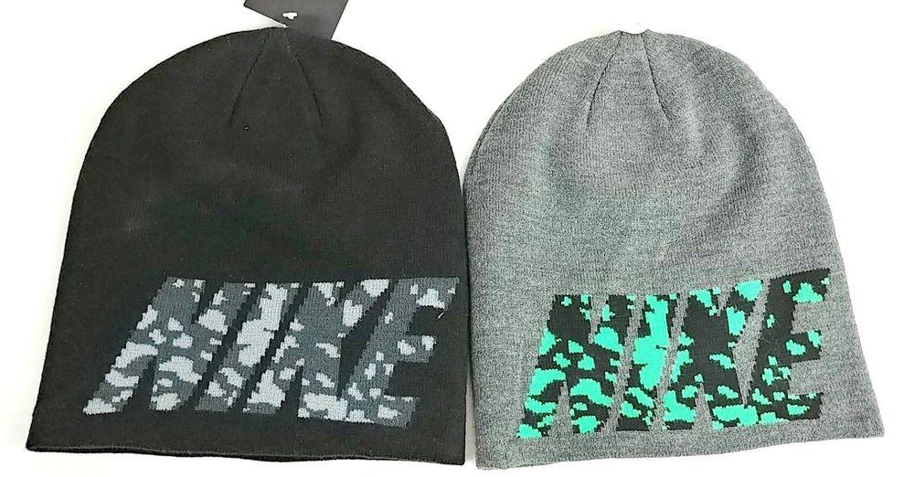 b14648c14b6 Nike Adult Unisex Beanie Knit Hat with Nike Logo On One Size  Nike  Beanie
