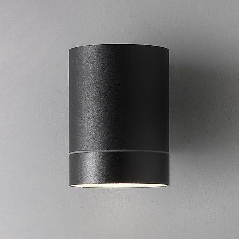 Nordlux tin maxi outdoor wall light black outdoor walls john buy nordlux tin maxi outdoor wall light black online at johnlewis mozeypictures Images
