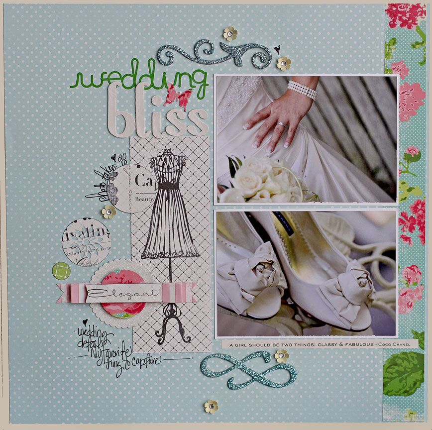 12 by 12 pages wedding scrapbook pages wedding