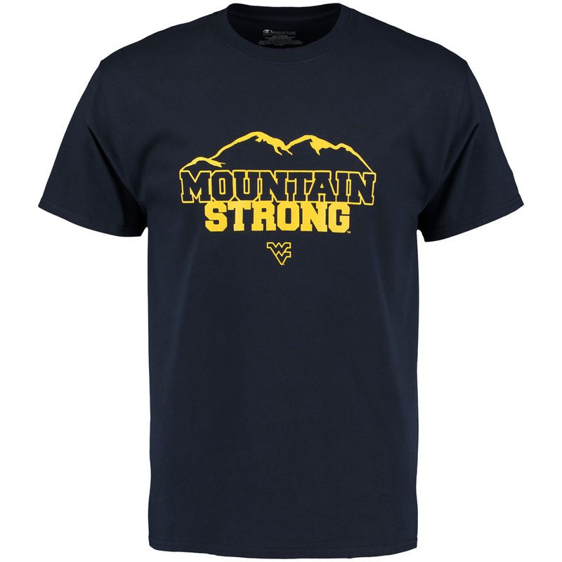 West Virginia Mountaineers Champion Local T-Shirt - Navy