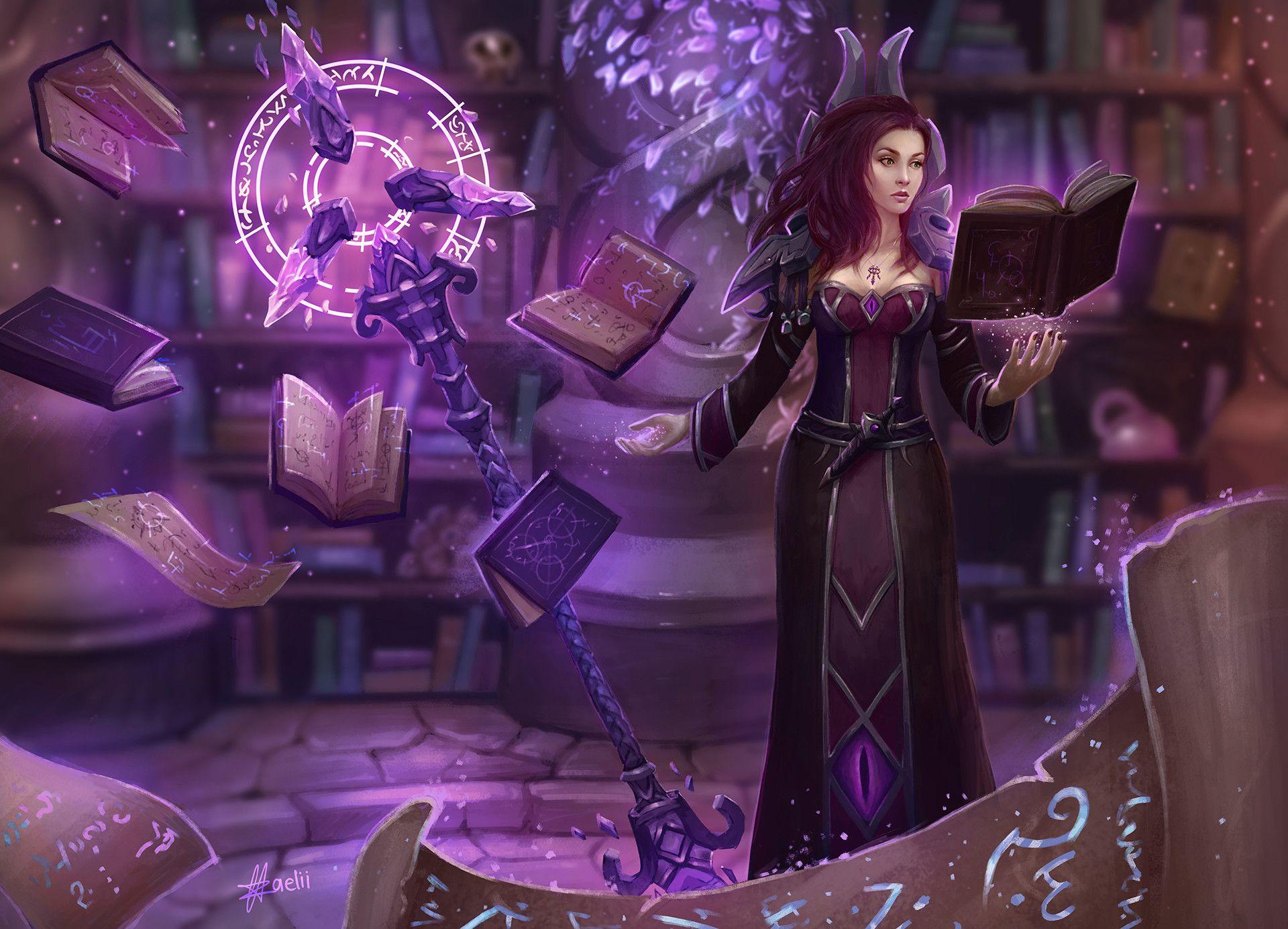 Artstation Arcane Mage Zaelii Art Arcane Mage World Of Warcraft Warcraft Art