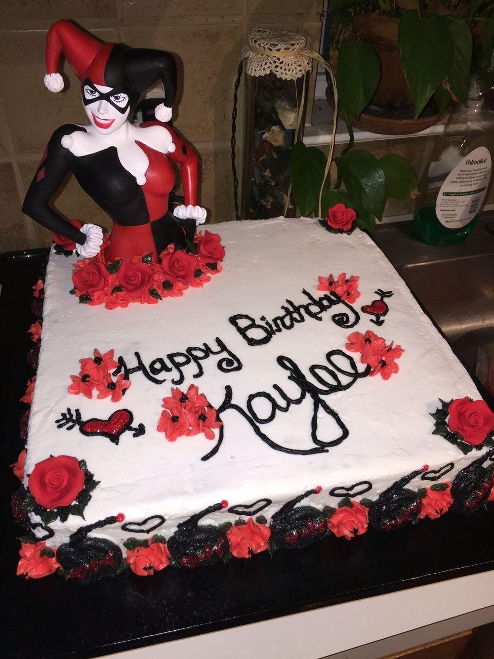Harley Quinn Cake Cake Ideas Diy Birthday Cake Cake