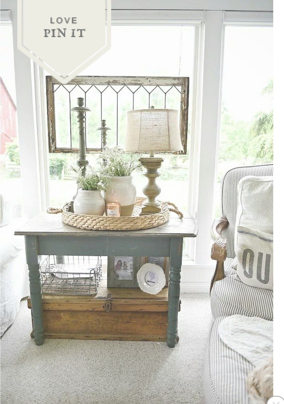 Pin by Ruth Dickerson on French Country Farmhouse end