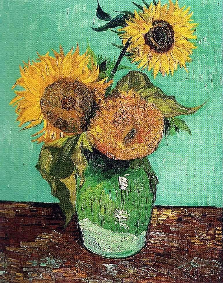 van gogh paintings | Sunflowers - Vincent Van Gogh ...