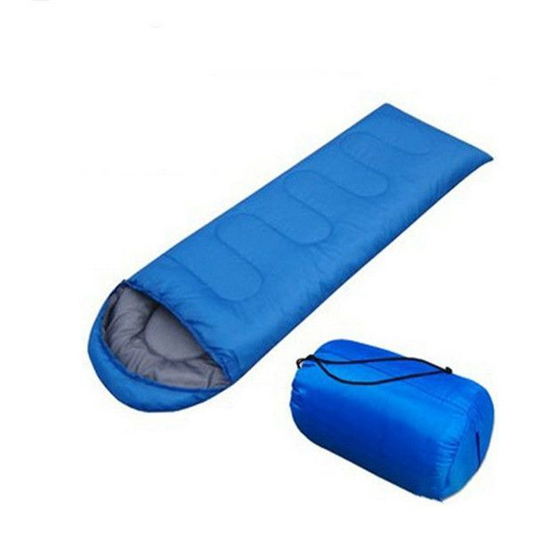 Camping Hiking Envelope Waterproof Sleeping Bag With Carrying Bag