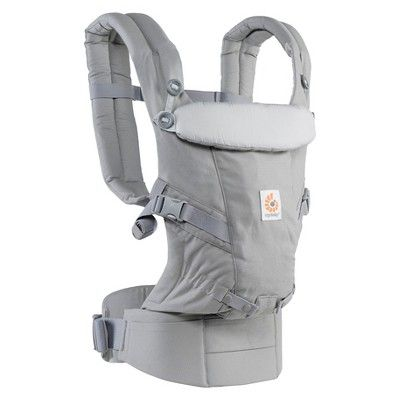 521170d84b6 Ergobaby Adapt Ergonomic Multi-Position Baby Carrier - Pearl Gray ...