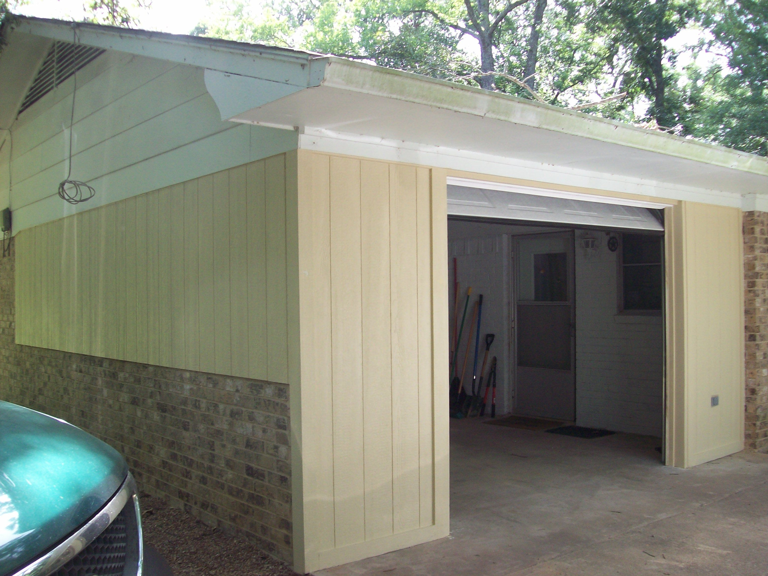 Closing in a carport to make guest suite - Carport Conversion