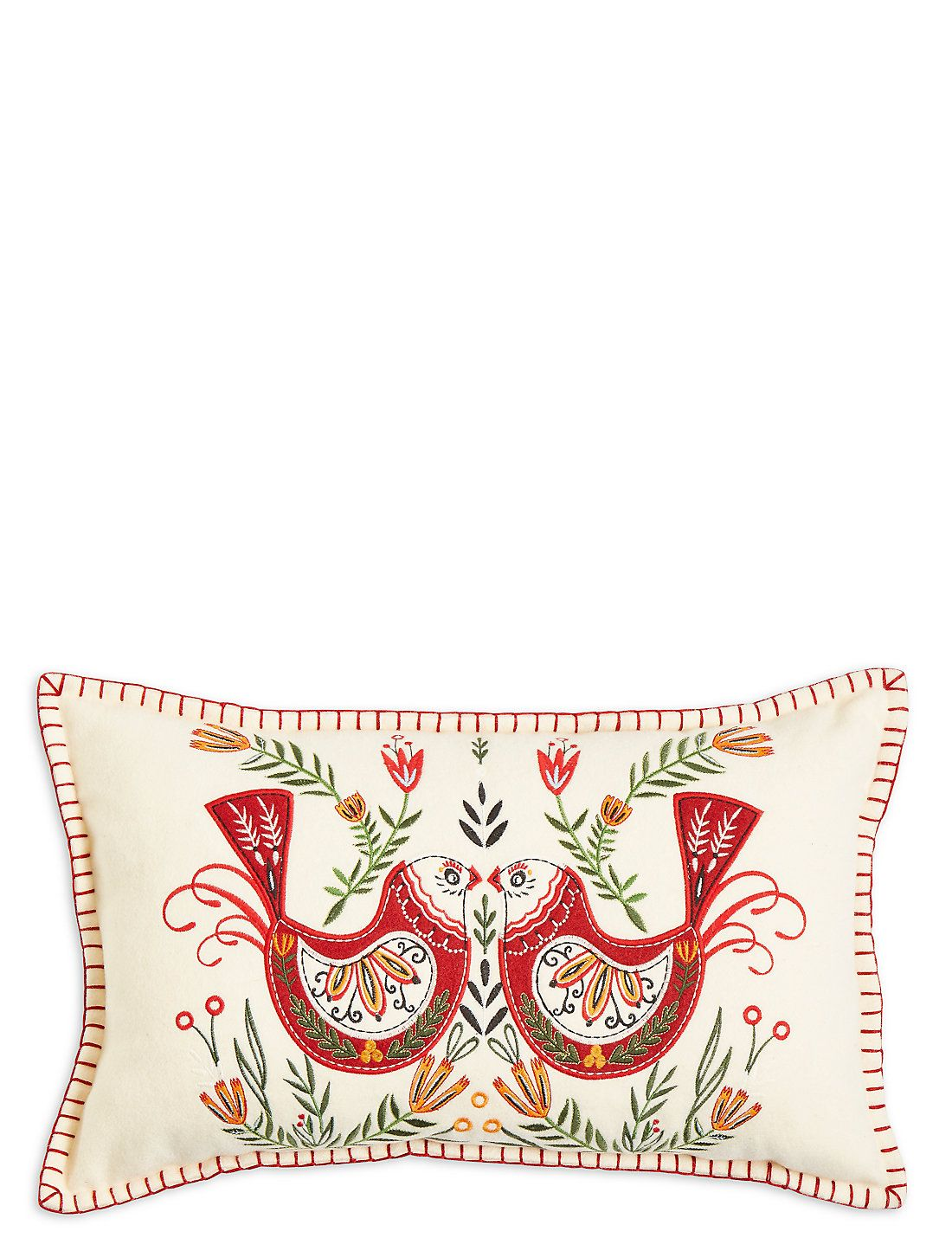 Robin Applique Cushion Marks Spencer London Applique Cushions Christmas Cushions Cushions