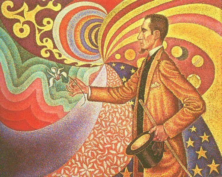 Artist: Paul Signac, Title: Portrait of Félix Fénéon, Art Period: Post-Impressionism 1890