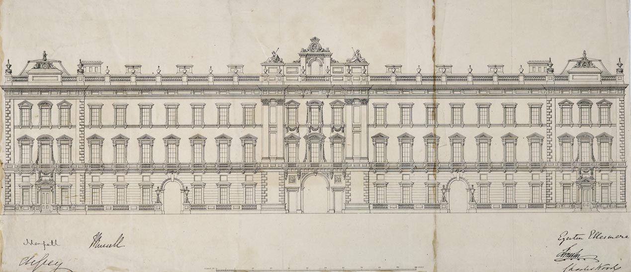 Картинки букингемского дворца для срисовки
