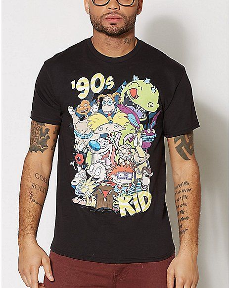 3e523f6bb1 90 s Kid T Shirt - Nickelodeon - Spencer s