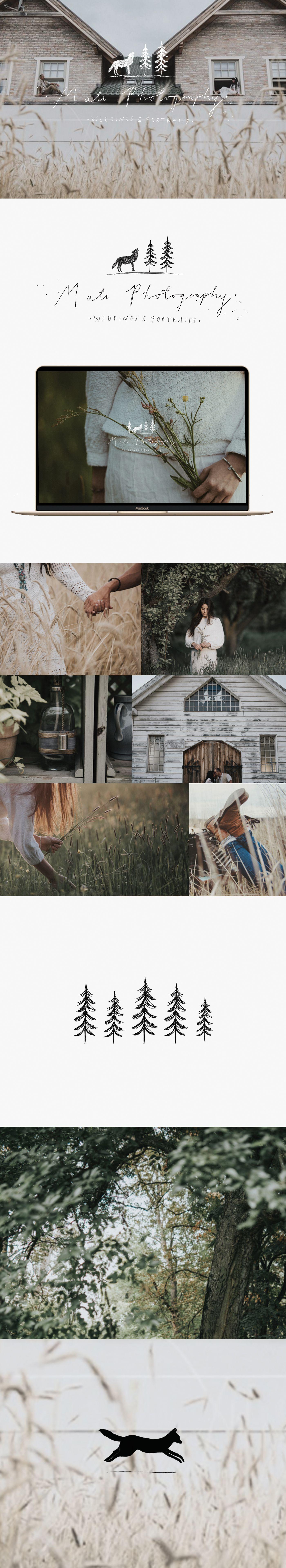Branding for Mati Photography by Ryn Frank | Branding | Pinterest ...