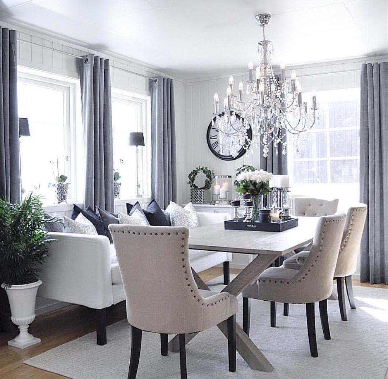 35 Dining Room Decorating Ideas Inspiration: Dinning Room Decor, Luxury