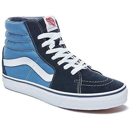 4b9eceb46c9 Vans VD5INVY Unisex SK8-Hi Canvas Skate Shoes