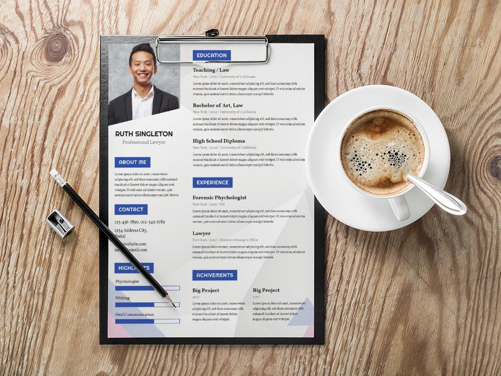 Free Lawyer CV Template - Cv template, Resume template free, Templates, Resume templates, Resume design, Lawyer - Free lawyer CV template with simple and modern style design  This lawyer resume template easy to use and customize, so you can quickly tailormake your job resume for any opportunity and help you t