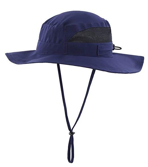 c6ee55ac8f0b4 Connectyle Men s Outdoor Mesh Boonie Sun Hat Wide Brim UV Protection  Fishing Hat Review