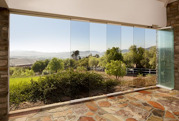 Frameless Glass Walls - NanaWall NanaGlass for interior and ...
