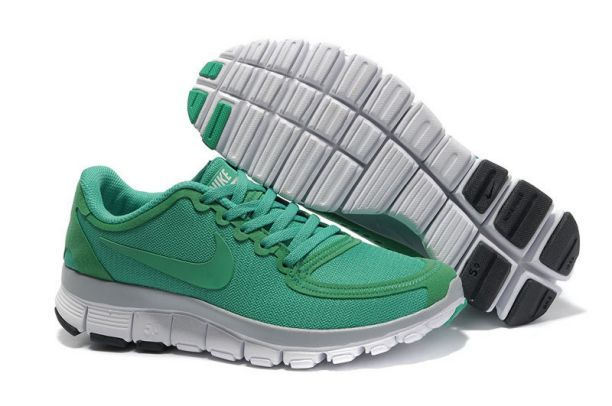 Womens Nike Free Run 3 Grey Green $79.00 | Nike Women's Running | Pinterest  | Nike free, Gray green and Running shoes nike