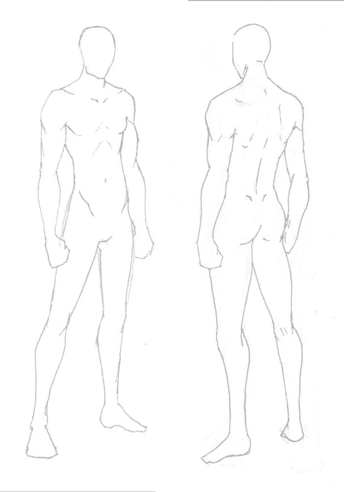 Male Base By Elyan Drawing Art Sketches Drawings Anatomy Drawing
