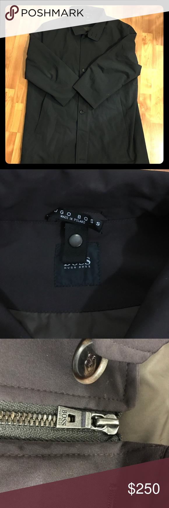 Hugo boss jacket Hugo boss men's jacket dark green. Hugo Boss Jackets & Coats