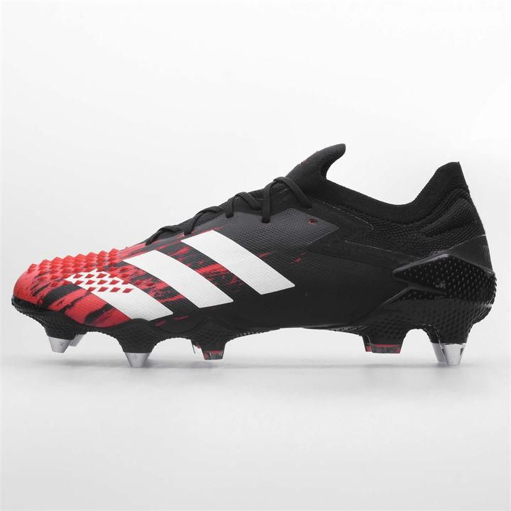 Predator 20 1 Low Mens Sg Football Boots In 2020 Predator Football Boots Black Football Boots Football Boots