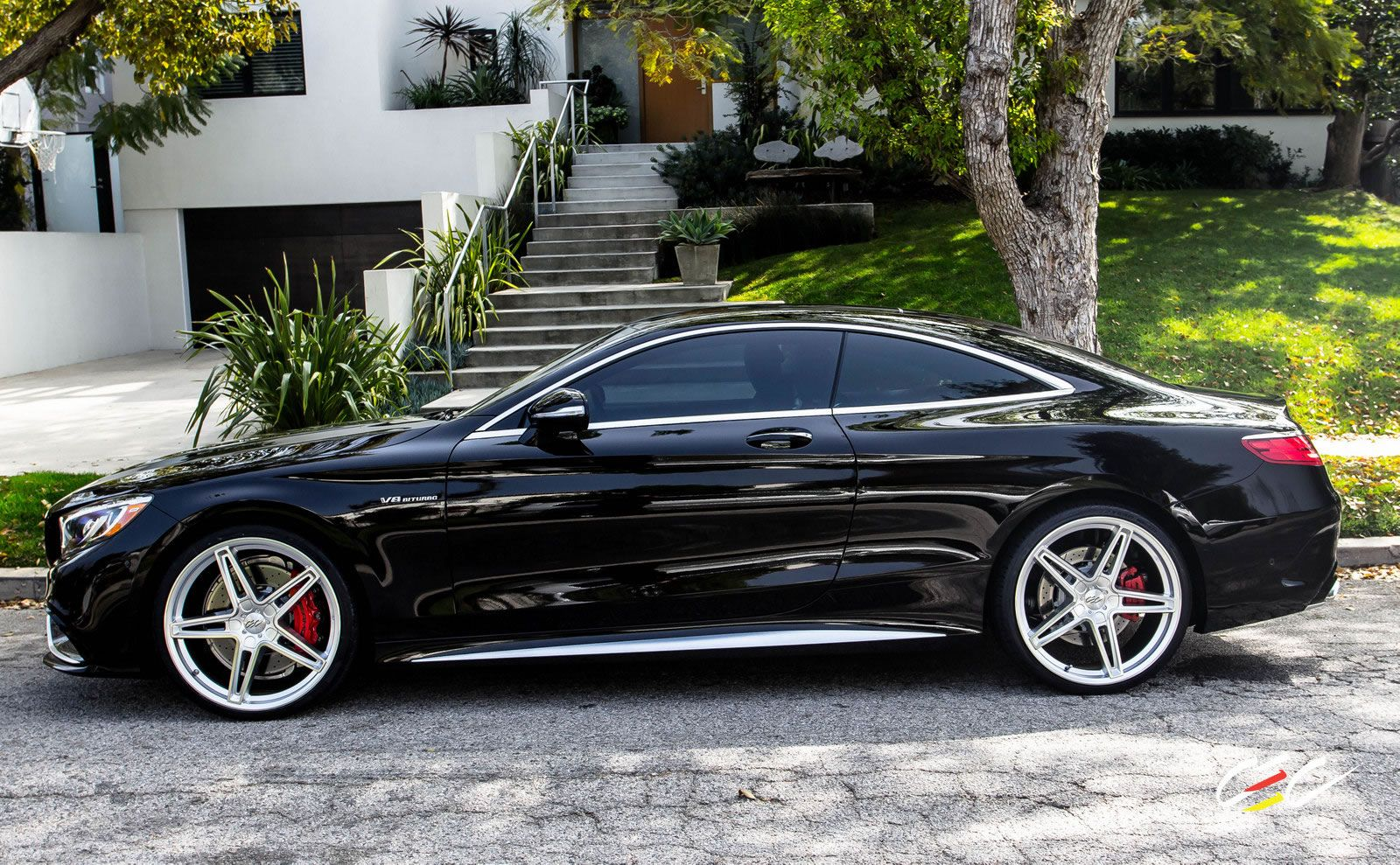 mercedes benz s63 amg coupe with staggered 22 s class pinterest mercedes benz coupe and cars. Black Bedroom Furniture Sets. Home Design Ideas
