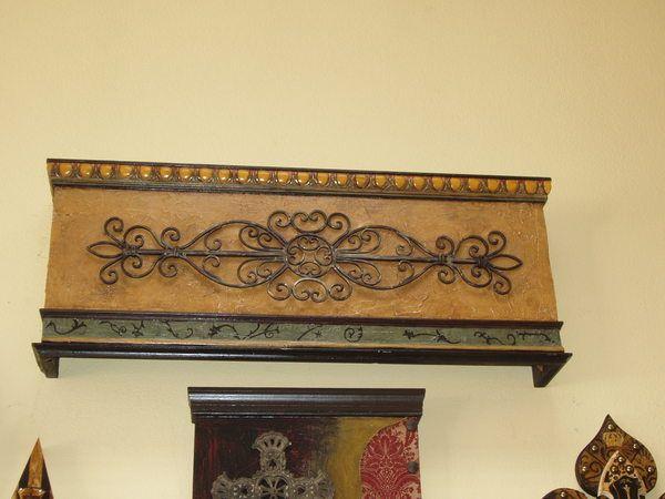 Cornice Board Patterns Wood Iron Cornice Board Shown Drapes Window Treatments
