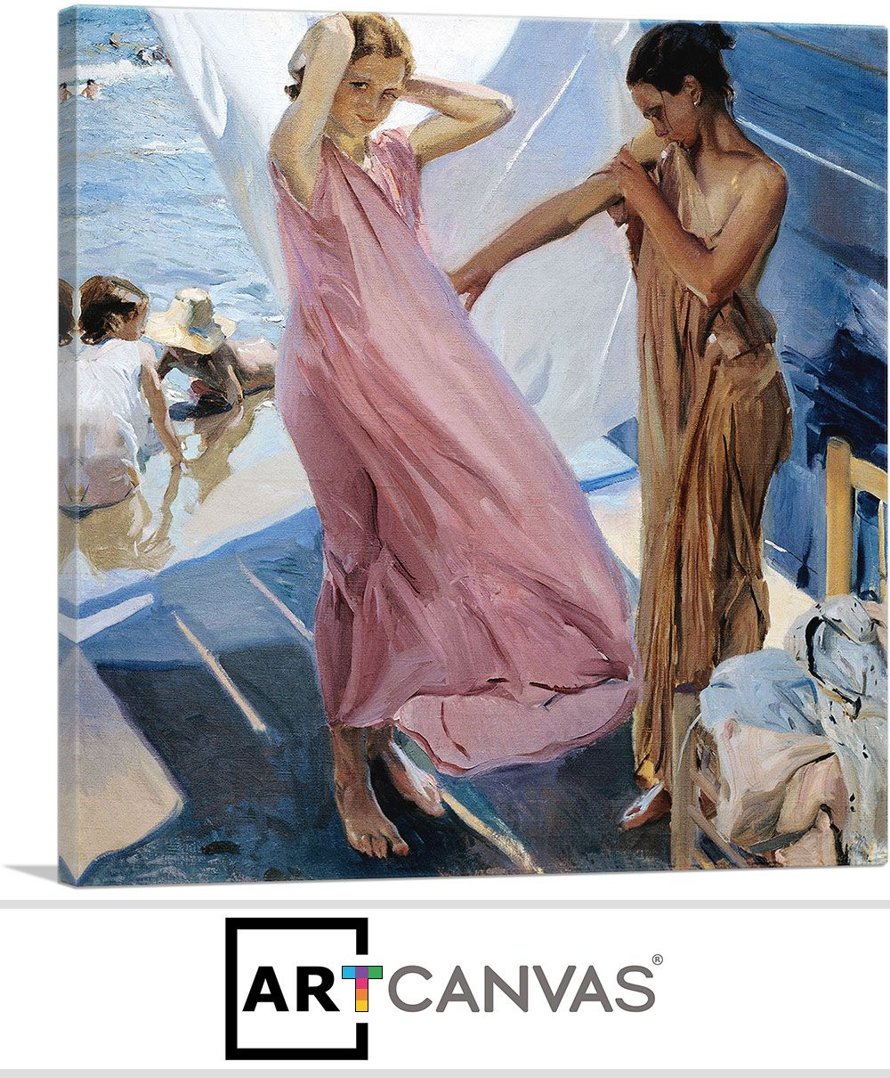 After Bathing Valencia Joaquin Sorolla Google Art Project