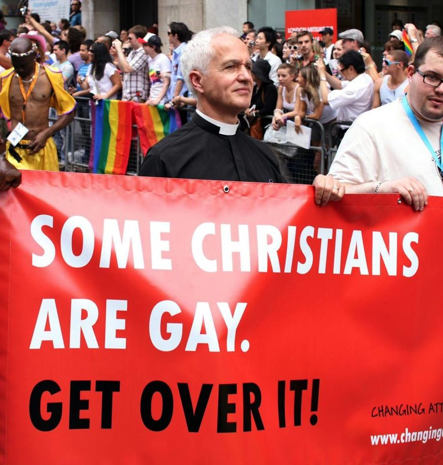 Can you be gay and christian, naylon orap fetish