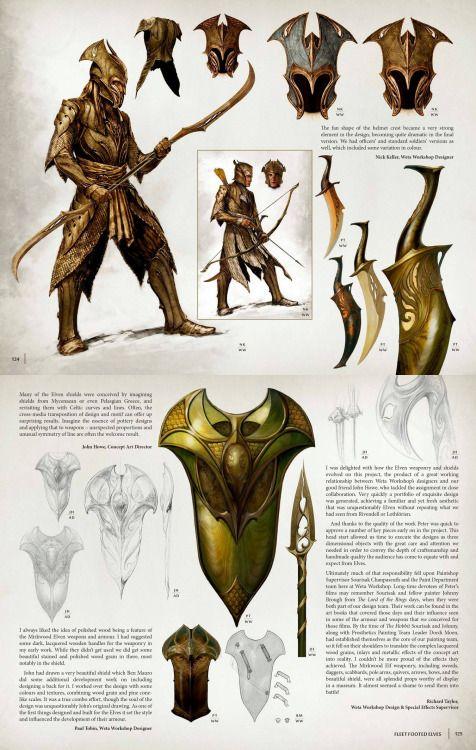 -Thranduil & Elves Concept Art-
