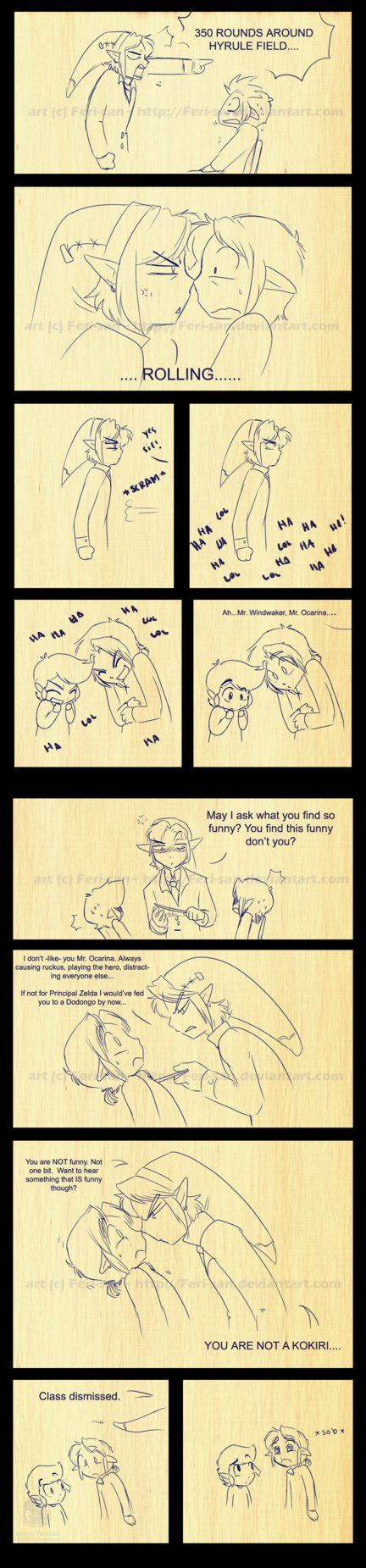 LoZ: Mr. Twilight 2 by Ferisae on deviantART ( Mr. Twilight doesn't like people playing in his class. BEHAVE. or he will emotionally assault you.)
