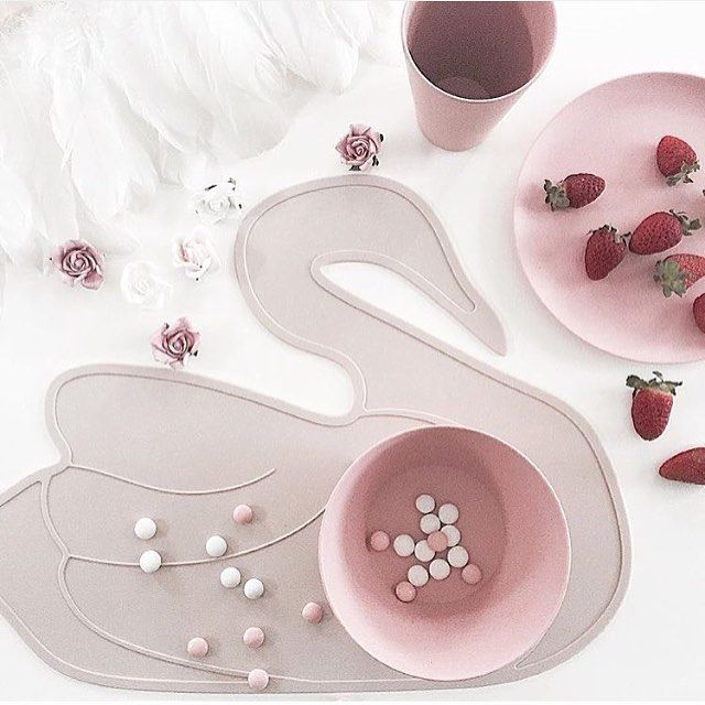 Bylillevilde Is Here Online Jetzt Placemats Dusty Pink Lille