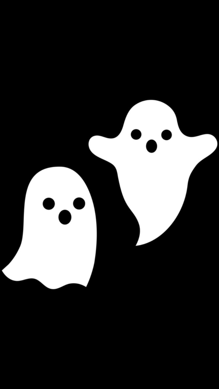 Cute Ghost Wallpaper Halloween Wallpaper Iphone Halloween Wallpaper Fall Wallpaper