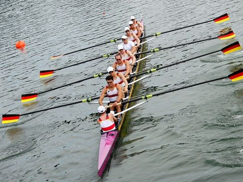 Germany - Gold for the Mens 8+