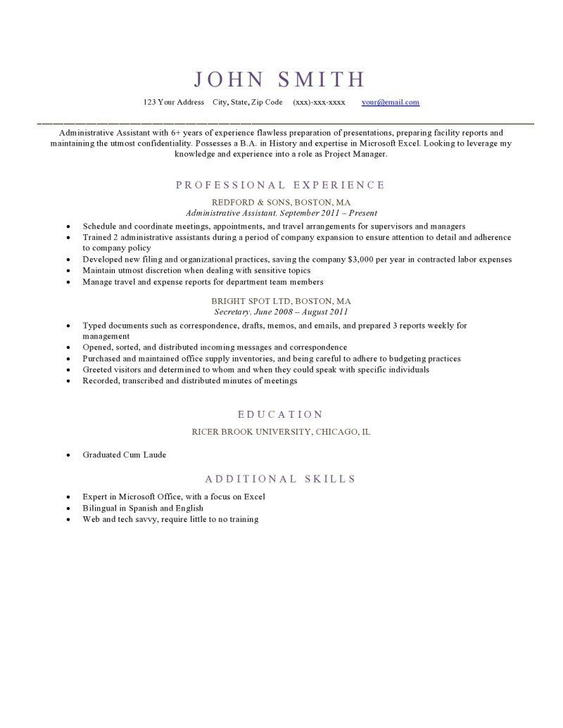 free resume templates elegant  with images