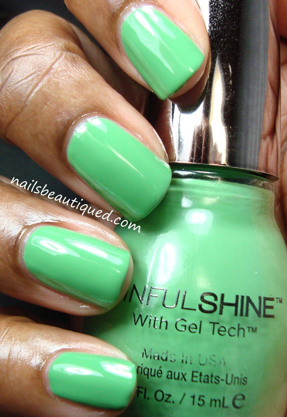 SinfulShine, In The Limelight | Nails | Pinterest | Esmalte
