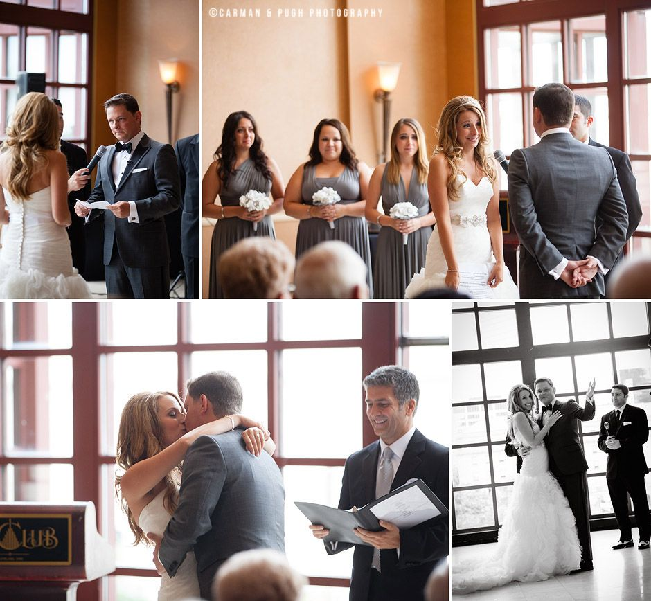 A cleveland wedding at the club at key center images by