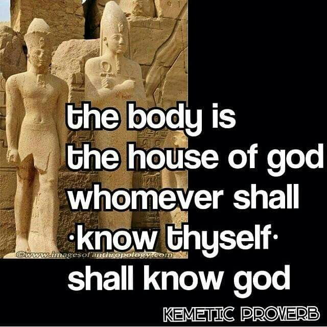 Know thyself african proverb