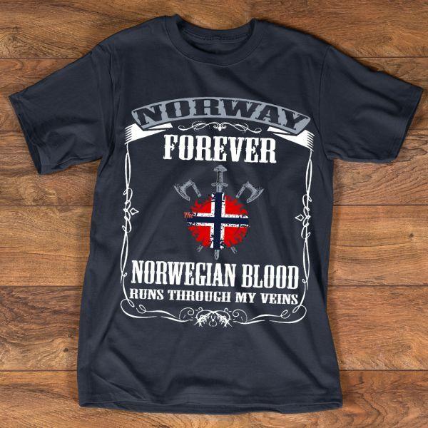 NORWAY FOREVER TEE HOODIE TANK TOP