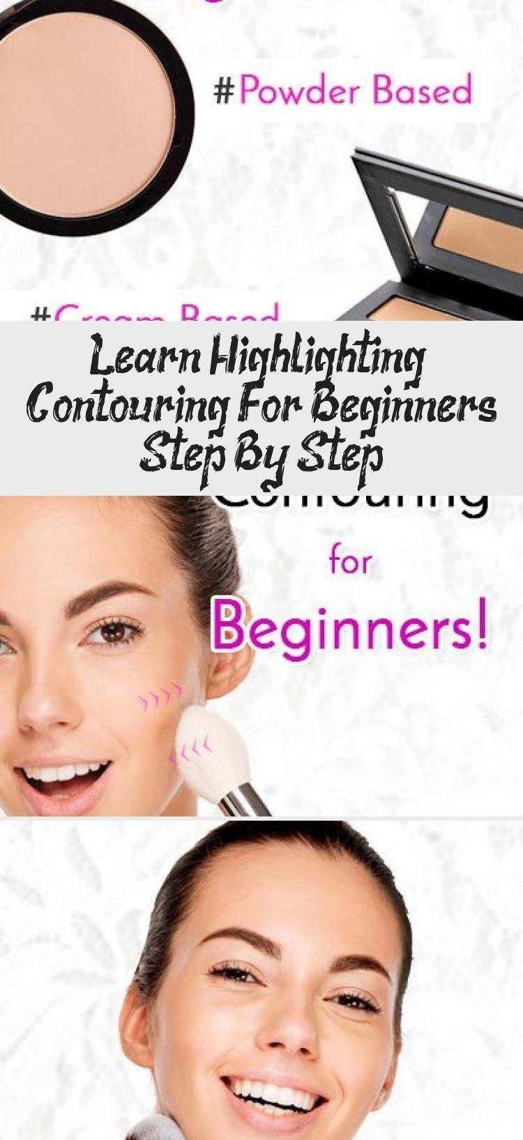 Photo of Learn Highlighting & Contouring For Beginners Step By Step… – MAKEUP –  Highli…