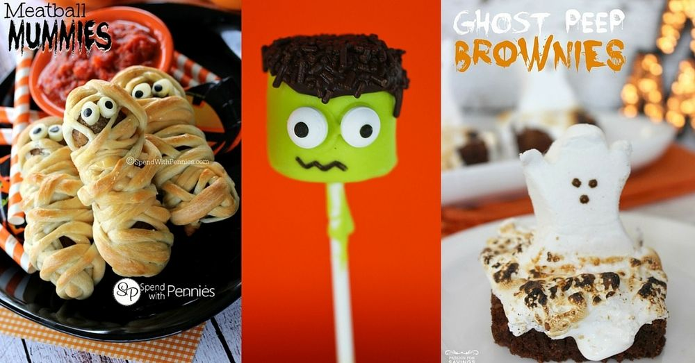 13 Halloween Recipes Halloween food recipes, Halloween foods and - spooky food ideas for halloween