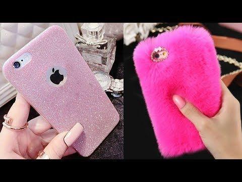 76a54493398 DIY: Como hacer Fundas Caseras para Celulares ♥ DIY Phone Cases ♥ - YouTube
