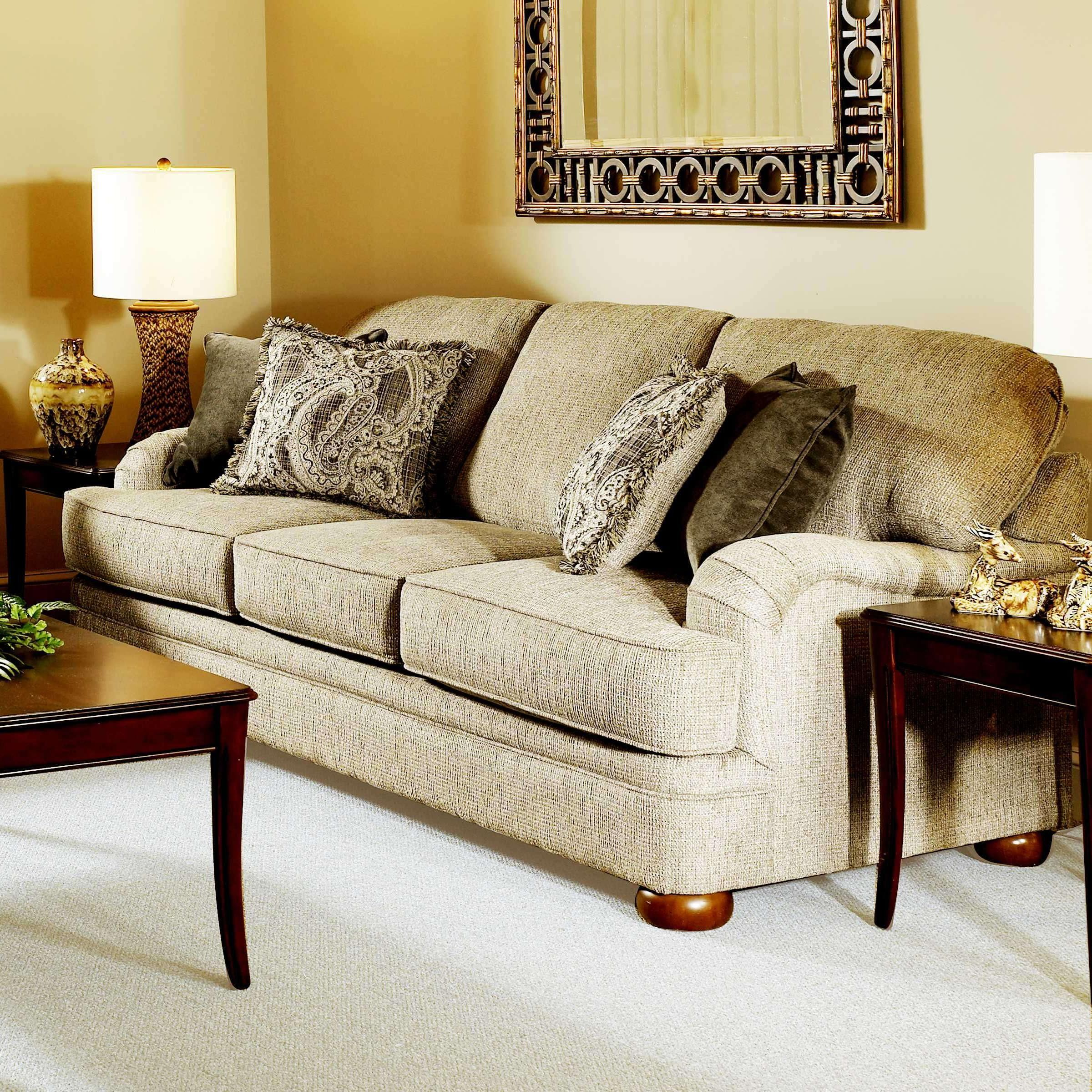 8 Sofa by Serta Upholstery by Hughes Furniture  Furniture