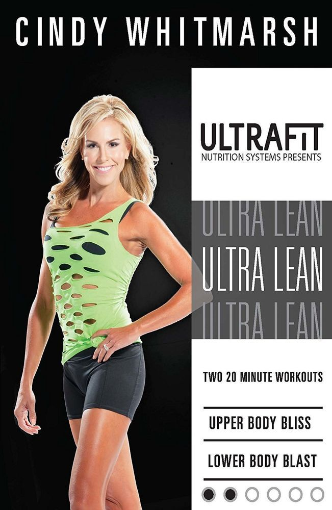 Cindy Whitmarsh Ufit Ultra Lean Focused Interval Training Workout Dvd New Ufit Interval Training Interval Training Workouts 20 Minute Workout