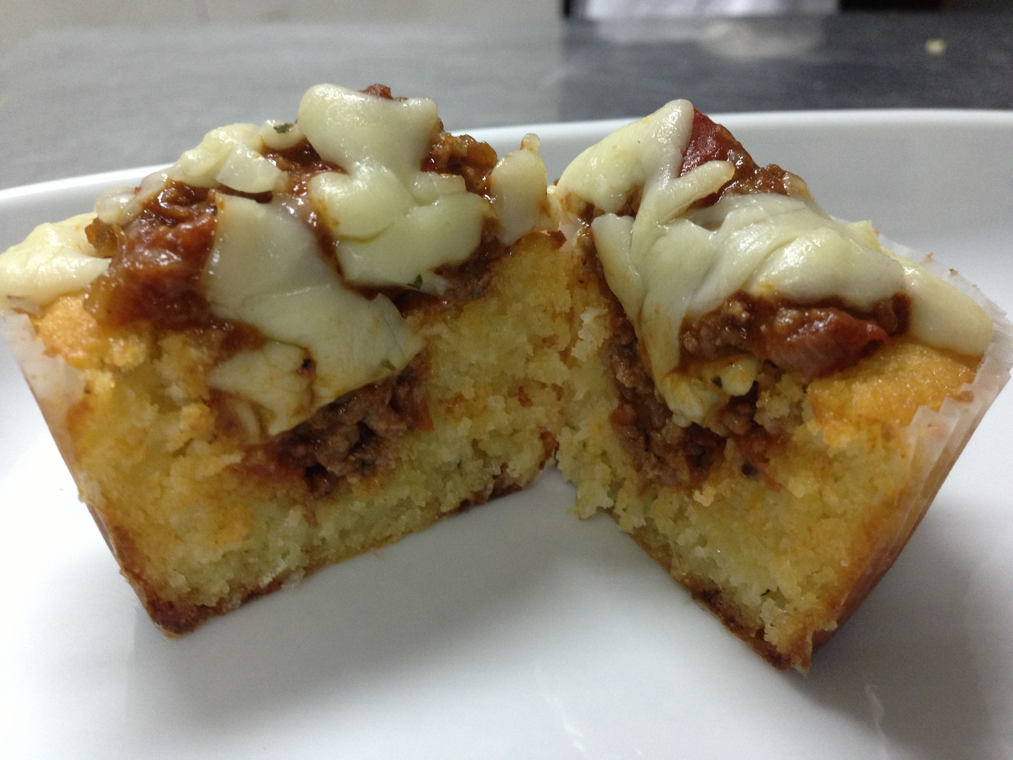 Pastel de choclo cupcake