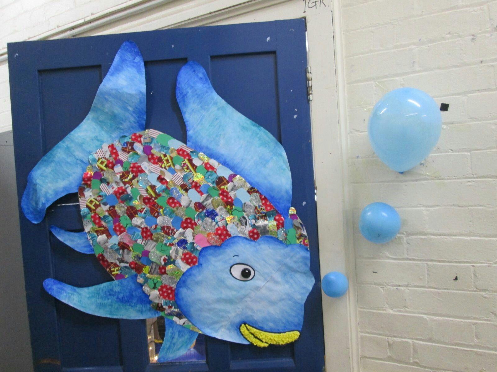 The Rainbow Fish Door Decoration Door Decorations Classroom