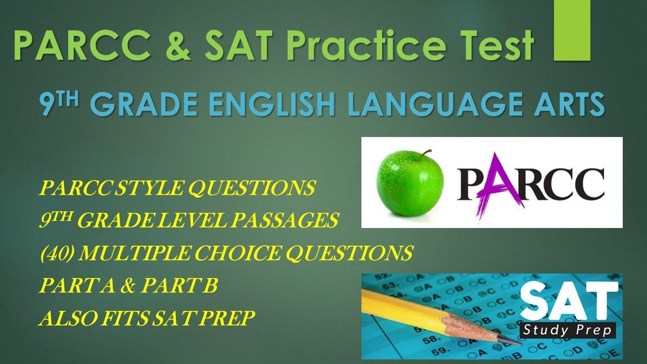 9th Grade English PARCC Practice & SAT Prep Test | PARCC