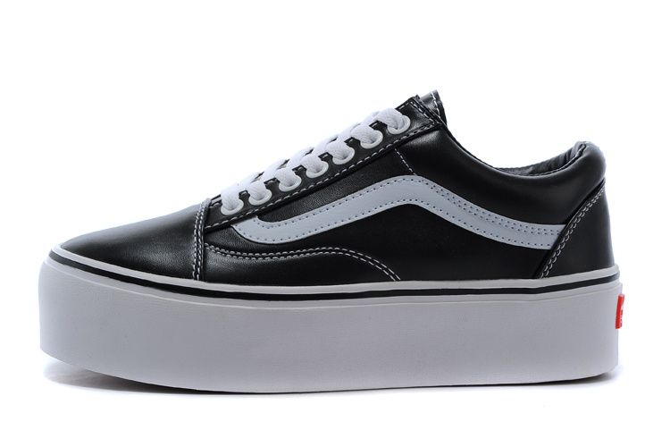1f7a084a81e14d 2015 VANS Old Skool Platform Low SHOES Black  VN-0VOKC7O V097  -  66.95   cheap  vans shoes for men