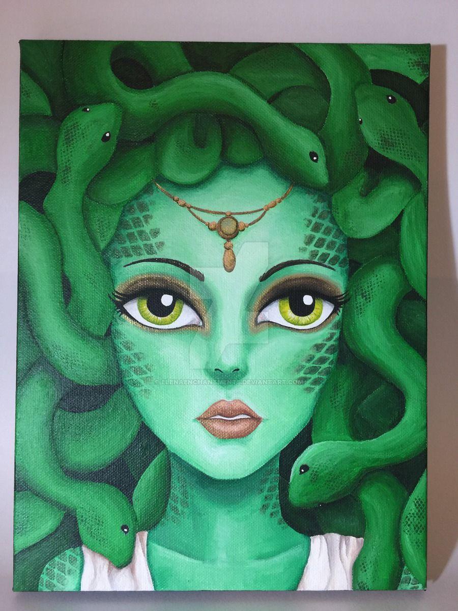 Medusa Art Medusa Mythology Mythologicalcreature Fantasyart